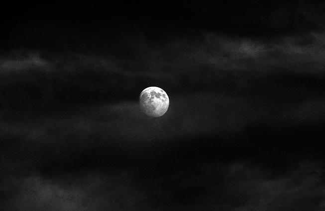 Nuit presque pleine © catherine peillon